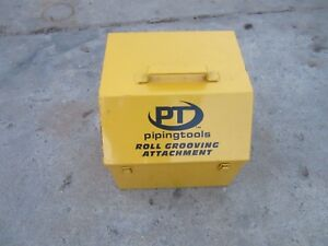 Box Only Berkley Whitten Piping Tools Roll Groover Carry Case Free Shipping