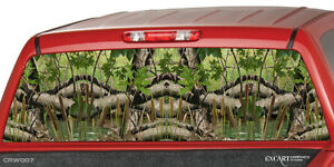 Camo Wetland Rear Window Graphic Decal Sticker Camouflage Truck Suv Ute Tint