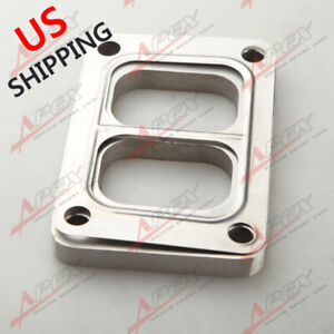 For T6 Divided Ss304 Turbo Inlet Weld Flange 1 2 Thick T304 Ss Gasket Us