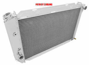 1969 1970 1971 Ford Ltd 4 Row Aluminum Champion Radiator