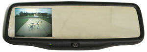Gentex Mirror W 3 5 Backup Camera Display Plug Play For 2009 13 Toyota Tacoma