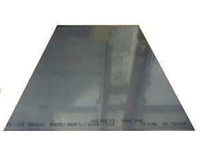 316 Stainless Steel Sheet Annealed 060 Thick X 24 Wide X 36 Length 1 Unit
