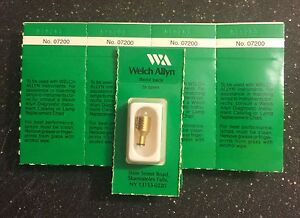Welch Allyn 07200 u Halogen Lamp Genuine Still In Package each