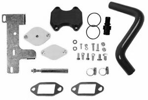 Complete Egr Valve Cooler Delete Kit 2010 2012 Dodge Ram For Cummins 6 7 Diesel