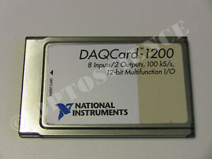 National Instruments Pcmcia Daqcard 1200 Ni Daq Card Analog Input
