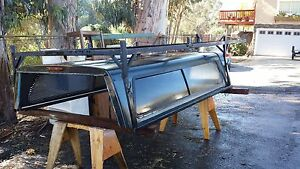 Gem Top Camper Shell And Rack Fit S 1990 2005 Chevy Longbed