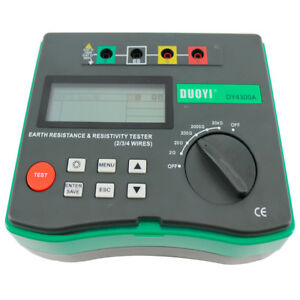 Dy4300a 4 terminal Earth Resistance And Soil Resistivity Tester