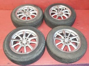 Integra Civic Del Sol Mb Motorsport Wheels Rims With Tires 15 10 Spoke 4x100