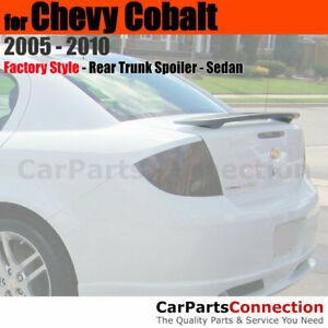 Primer Abs Rear Trunk Spoiler Wing For 2005 2010 Chevrolet Cobalt 4door Sedan