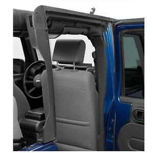 Bestop 55011 01 Black Vinyl Door Surround Kit For Jeep Wrangler Jk 4 door