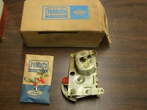 Nos Oem Ford 1962 1963 1964 Fairlane Door Latch Drivers Side
