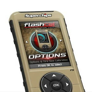 Superchips 3876 Flashpaq Performance Tuner For Jeep Wrangler Jk