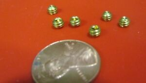 Brass Set Screws Cup Point 8 32 X 1 8 Length 100 Pieces