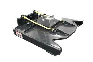 New Brush Mower Skid Steer Attachment free Shipping