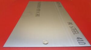 410 Stainless Steel Sheet 040 Thick X 12 Wide X 24 Length 1 Pc