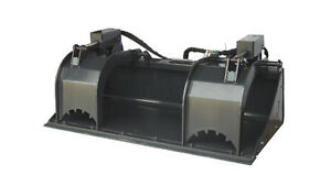 New 74 Grapple Bucket Skid Steer Attachment free Shipping