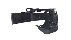 New Backhoe Skid Steer Attachment 6 5 Dig 12 Bucket No Thumb free Shipping