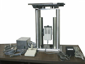 Open Microscope Lep ludl Bioprecision 99s017 Motorized Stage Mac5000 Controller