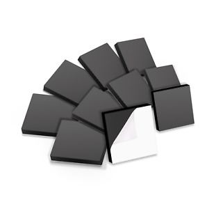 Self adhesive Square Magnets Craft School X 1 Inch 25 Magnets Per Pack