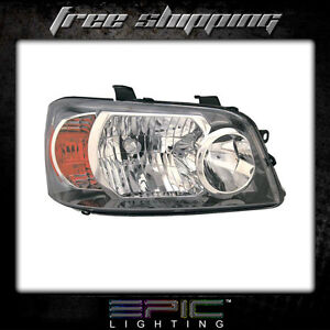 Fits 2004 06 Toyota Highlander Headlights Headlamps Right Passenger Only
