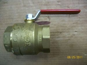 New Brass Ball Valve 2 Giacomini Pipe Threaded Free Shipping