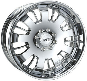 Lexus Gx460 Gx470 2007 2014 Chrome Rims 20 20 x8 5 Ace 6x139 7 5 5 Aftermarket