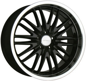 1992 2000 Lexus Sc400 Black Staggered Wheel 19 x8 5 Ace 5x114 3 4 5 Aftermarket
