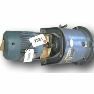 Used 7 5 Hp Falk Enclosed Gear Drive Reducer 25 03 1