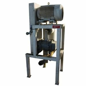 50 Hp Used Roots 409 Rcs h Rotary Lobe Blower Package