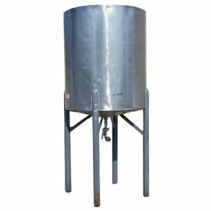 Used 235 Gallon Stainless Steel Jacketed Tank