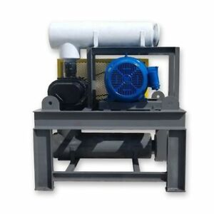 Used 50hp Tuthill Pd Blower Package Model 4509 46l2 Rotary Positive Displacement