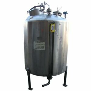 300 Gal Used 304 Stainless Steel Tank
