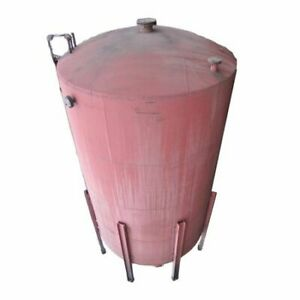 Used 9 000 Gallon Vertical Tank Stainless Steel Lined