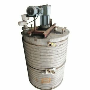 Used 6000 Gal Stainless Steel Jacketed Mixing Tank