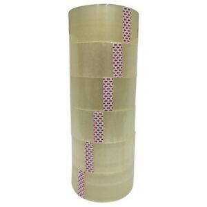 36 Rolls Clear Shipping Packing Carton Sealing Tape 2 0mil 2 X 110 Yards 330ft