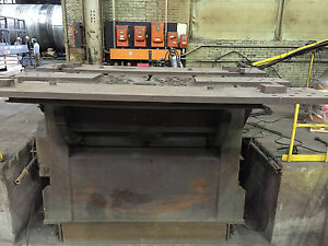 60 000 Lb Aronson Welding Positioner Model G600 Cs 135 Deg Tilt 8 X 8 Tbl