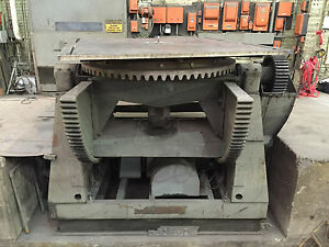 40 000 Lb Ransome Welding Positioner Model 400p 84 X 84 Table 135 Deg Tilt