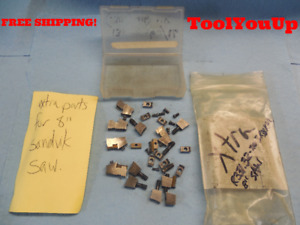Sandvik R331 32 203r38 Km 8 Saw Parts Clamps Screws Inserts Machine Shop Tools