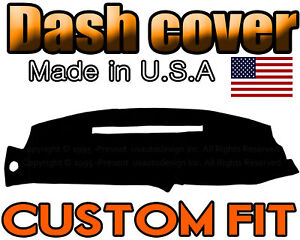 Fits 1998 2001 Gmc Jimmy Dash Cover Mat Dashboard Pad Black