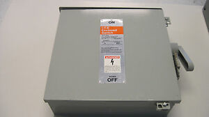 Ite 30 Amp 600 Volt Nf651h Hd Transfer Switch Disconnect