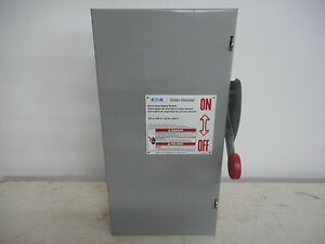 Cutler Hammer Dh323fgk Disconnect 100 Amp 240 Volt Safety Switch