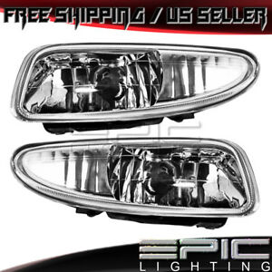 2001 2002 Dodge Plymouth Neon Driving Fog Lights Left Right Sides Pair