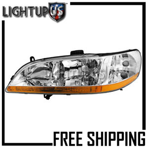 Headlight For 1998 2000 Honda Accord Coupe Left Driver Side Lh