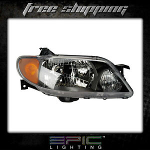 Fits 2001 03 Mazda Protege Headlight Headlamp Right Passenger Only