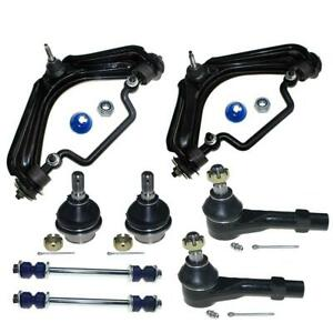 For 2002 2003 Ford Explorer Upper Control Arms Ball Joints Tie Rods Sway Bar 8pc