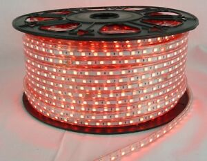 Red 100 Meter 5050 Led Rope Light