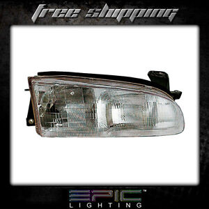 Fits 1993 97 Geo Prizm Headlights Headlamps Right Passenger Only