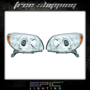 Fits 2006 09 Toyota 4runner Headlights Headlamps Pair Left Right Set