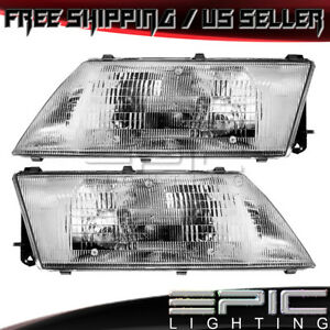Headlights Headlamps For 1995 1998 Nissan Sentra 200sx Left Right Sides Pair