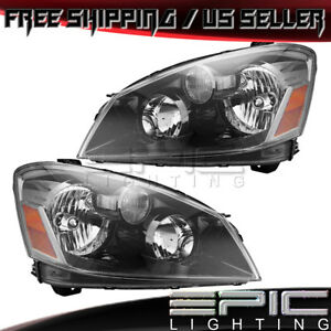 Hid Headlights Headlamps For 2005 2006 Nissan Altima Left Right Sides Pair